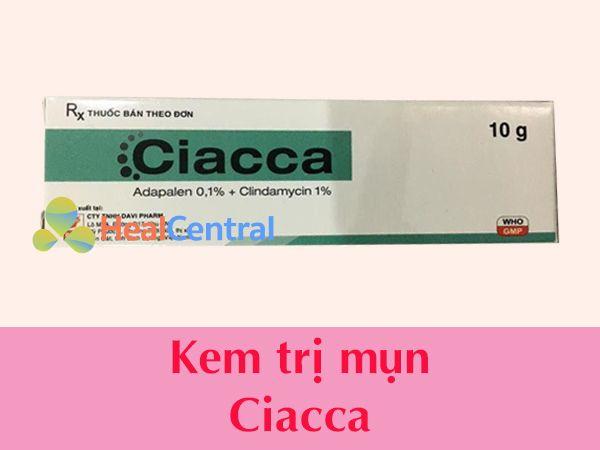 Thuốc trị mụn Ciacca