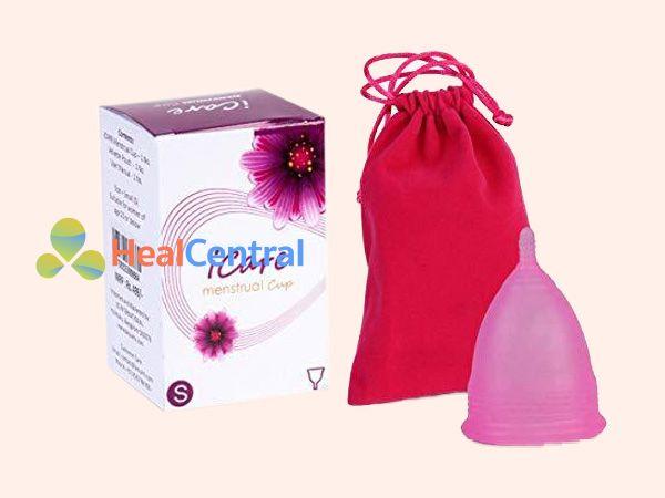 Cốc nguyệt san ICare màu hồng