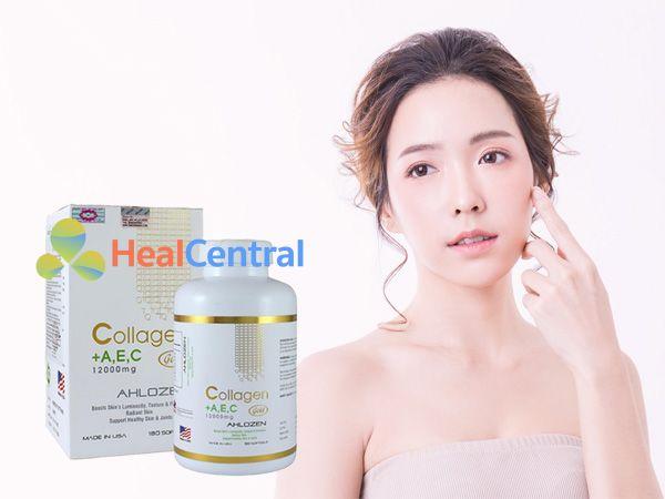 Collagen +A,E,C - cải thiện làn da cho phụ nữ