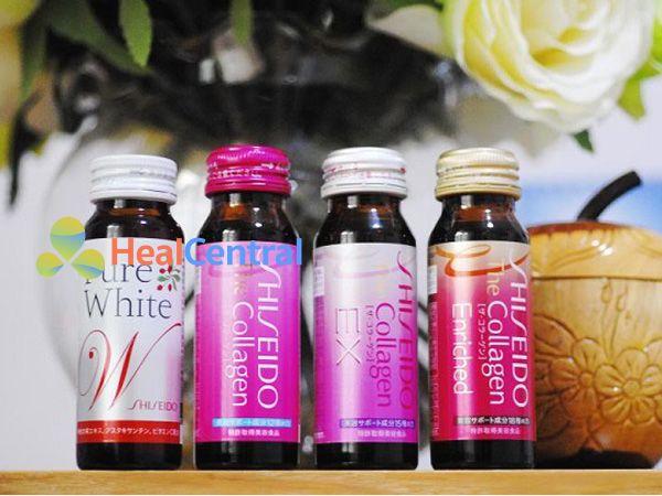 Các sản phẩm Collagen Shiseido dạng nước đang thịnh hành