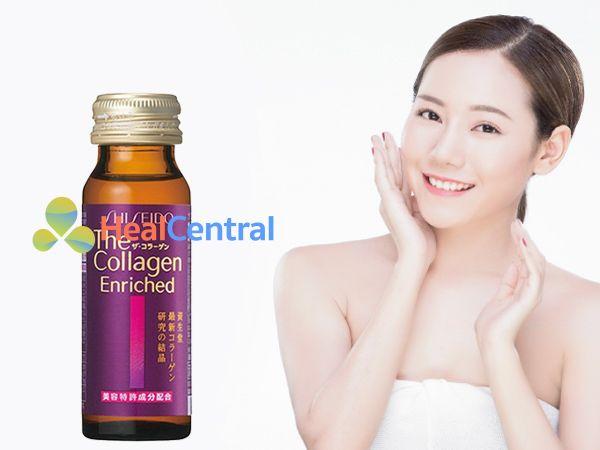 Collagen Shiseido - đem lại làn da sáng mịn