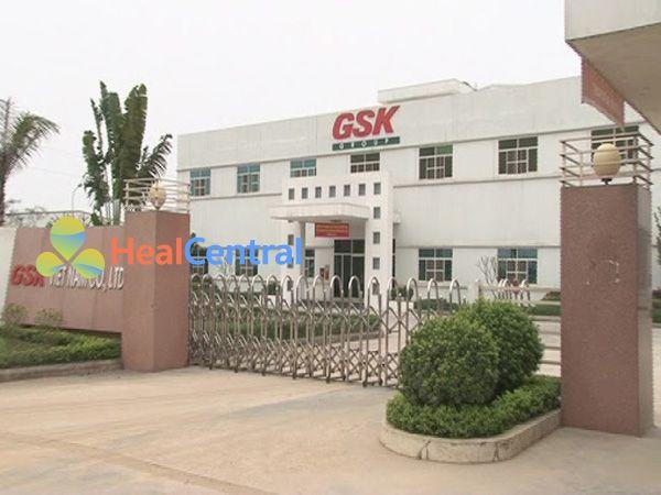 Một cơ sở của Công ty GSK tại Việt Nam