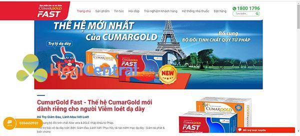 CumarGold Fast - Sự lựa chọn tốt cho bệnh nhân bị dạ dày