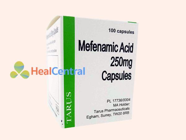 Thuốc Mefenamic acid giảm đau bụng kinh hiệu quả