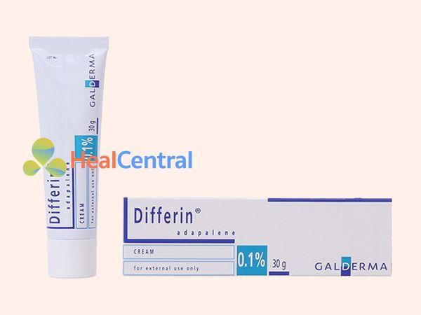 Thuốc trị mụn Differin 0.1% có xuất xứ từ Pháp