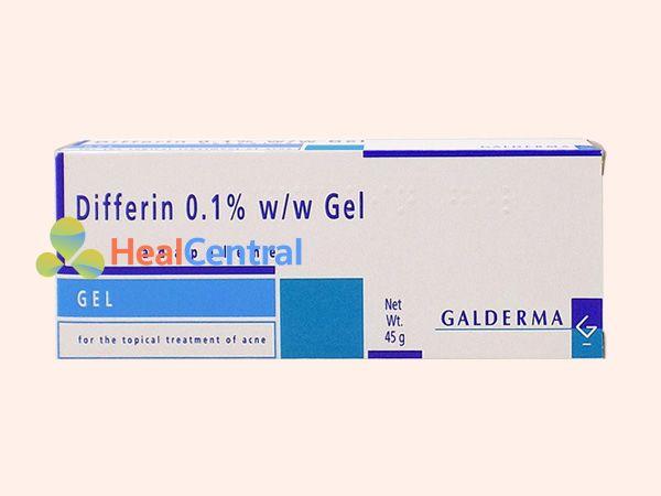 Thuốc Differin 0.1%- điều trị mụn trứng cá