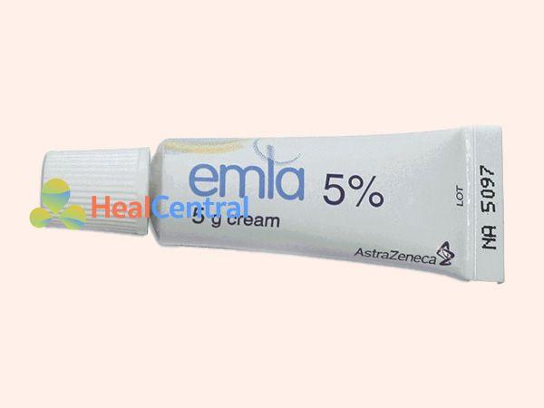 Hình ảnh tuýp thuốc Ema 5% 5g