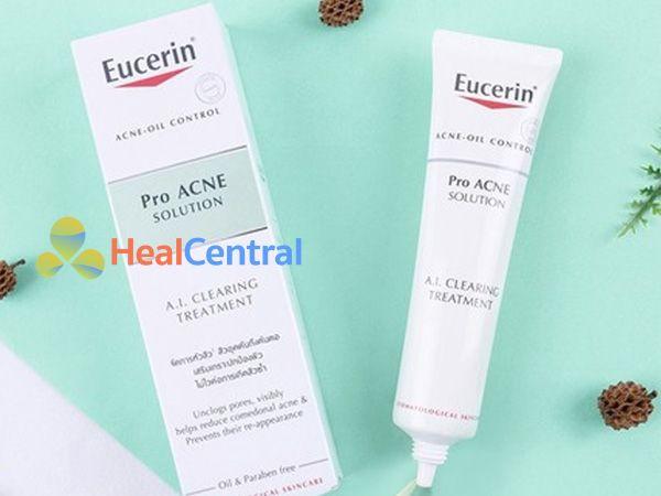 Mỗi tuýp Eucerin ProACNE có 40ml