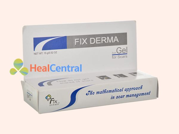 Kem trị sẹo Fixderma Scar Gel có 15ml gel