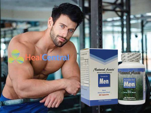 Formula For Men giúp cánh mày râu tự tin chốn phòng the