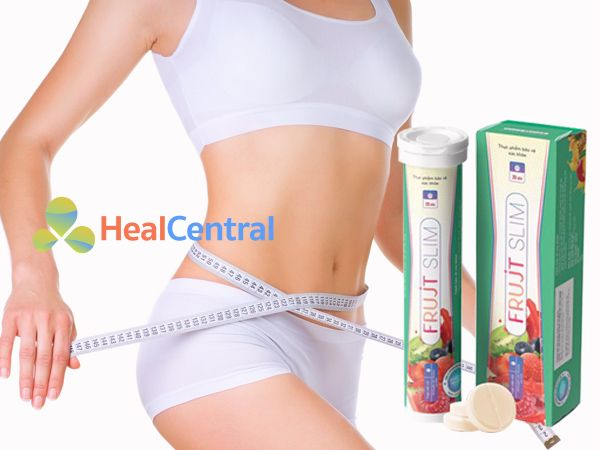 Viên sủi giảm cân Frujt Slim - đem lại vòng eo thon gọn