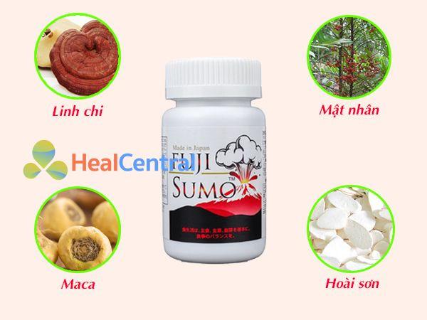 Các thành phần chính của Fuji Sumo