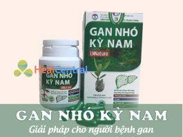 Sản phẩm Gan Nhó Kỳ Nam