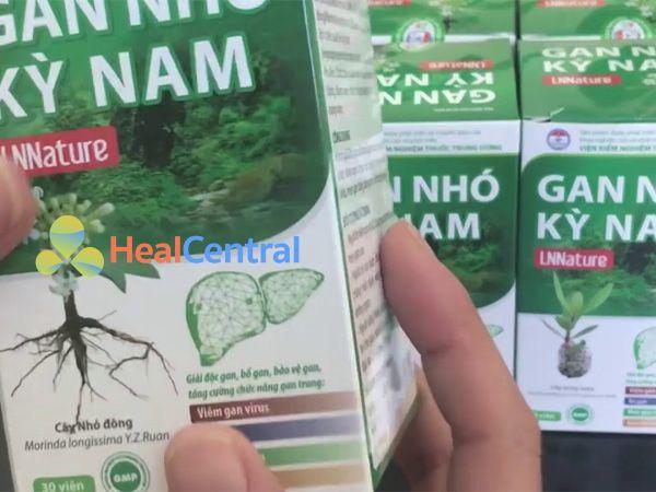 Gan Nhó Kỳ Nam - hỗ trợ giải độc gan