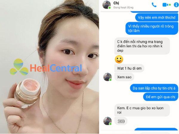 Review của khách hàng sau khi sử dụng Genie Junwang Fix Skin