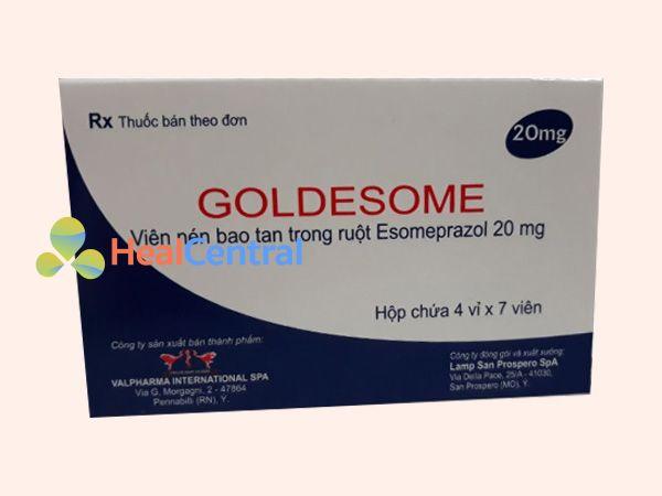 Thuốc Goldesome có thành phần chính là Omeprazole