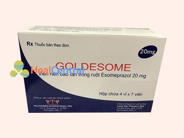 Hình ảnh hộp thuốc Goldesome