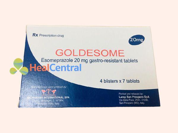 Thuốc Goldesome điều trị loét dạ dày - tá tràng