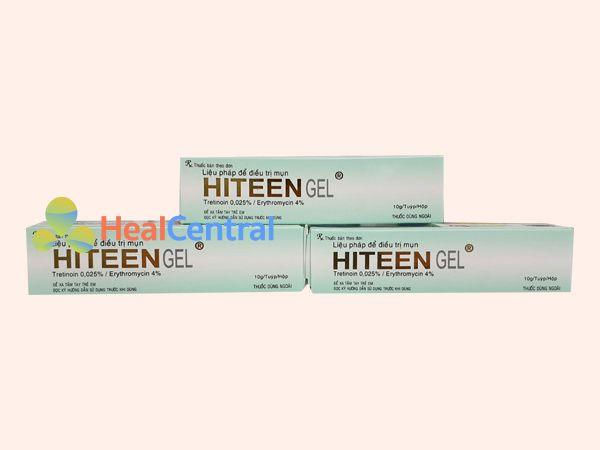 Thuốc Hiteen gel - điều trị mụn trứng cá