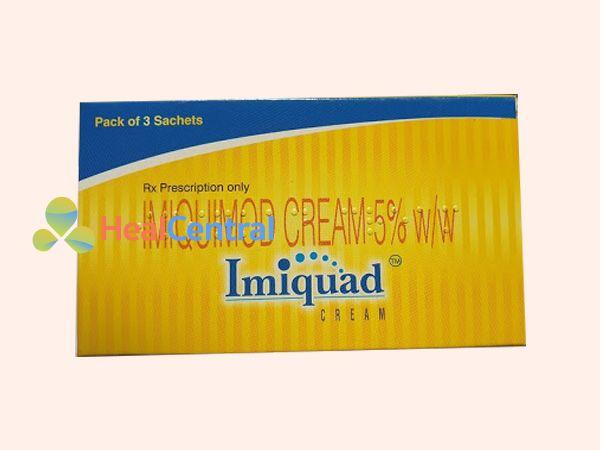 Thuốc trị mụn cóc Imiquimod