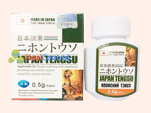 Hình ảnh hộp sản phẩm Japan Tengsu
