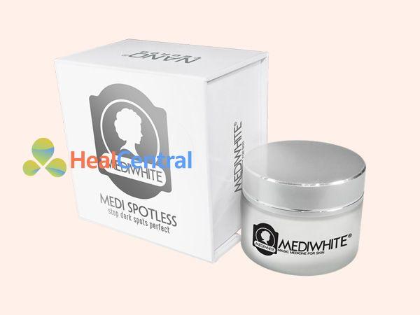 Kem trị sẹo Medi White sản xuất bởi Công ty Nano Techco