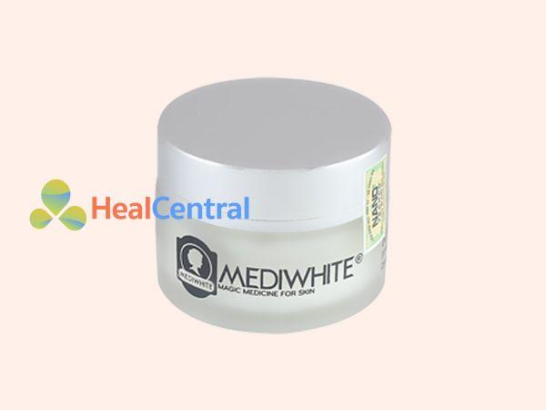 Hình ảnh hũ kem trị sẹo Medi White