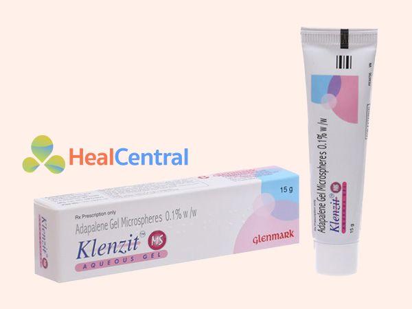 Thuốc Klenzit MS điều trị mụn trứng cá