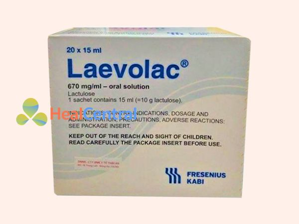 Hình ảnh hộp thuốc Laevolac
