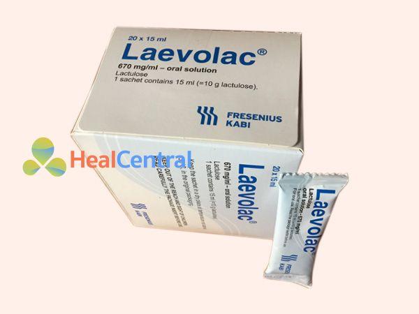 Thuốc Laevolac có thành phần Lactulose