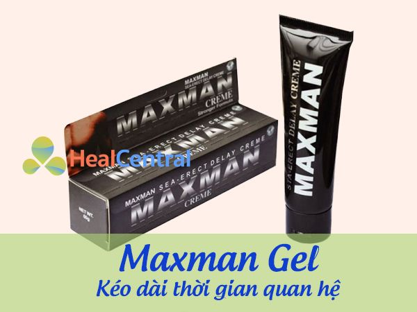 Sản phẩm gel bôi trơn Maxman Gel