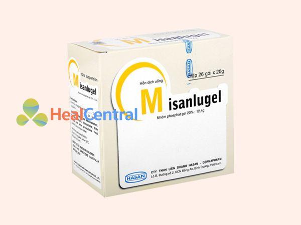 Hình ảnh hộp thuốc Misanlugel