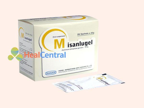 Thuốc Misanlugel - điều trị loét dạ dày tá tràng