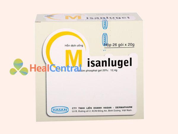 Thuốc Misanlugel giúp bao vết loét dạ dày