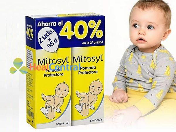 Mitosyl Irritations trị hăm cho trẻ em