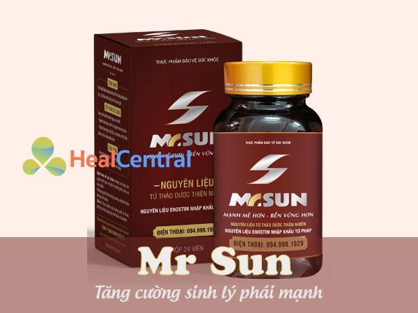 Mr Sun - Mạnh mẽ hơn, bền vững hơn