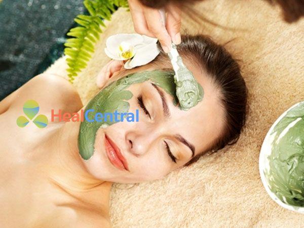 Mặt nạ trà xanh tự nhiên giúp da trắng sáng, min màng, ngăn ngừa mụn thịt
