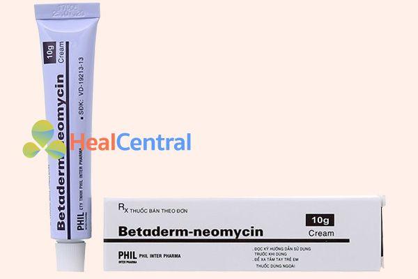 Kem bôi trị các bệnh phụ khoa Neomycin
