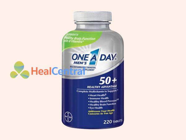 One a day Men's 200 viên giúp bổ sung các vitamin và khoáng chất