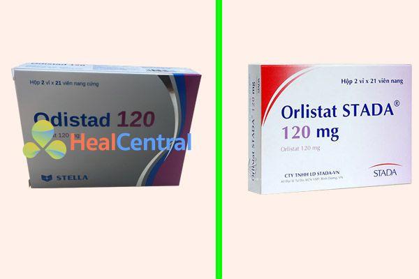 Thuốc Orlistat Stada 120mg và Odistad 120 là một