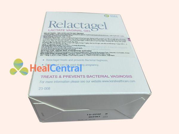 Thuốc Relactagel - điều trị viêm nhiễm âm đạo