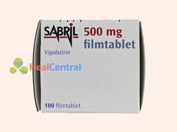 Hình ảnh hộp thuốc Sabril