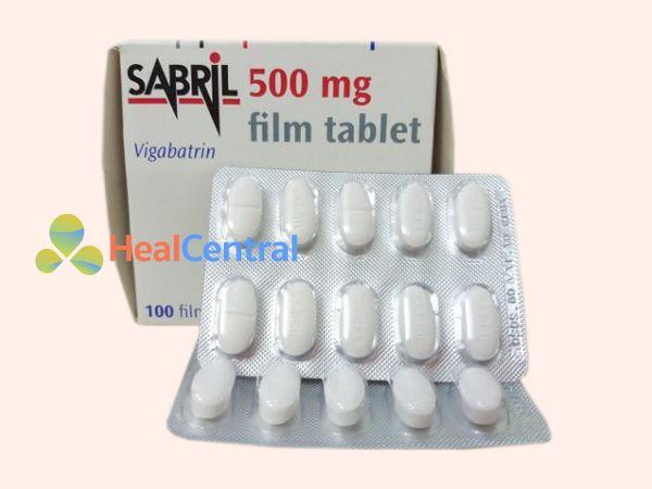 Thuốc Sabril sản xuất bởi Công ty Sanofi