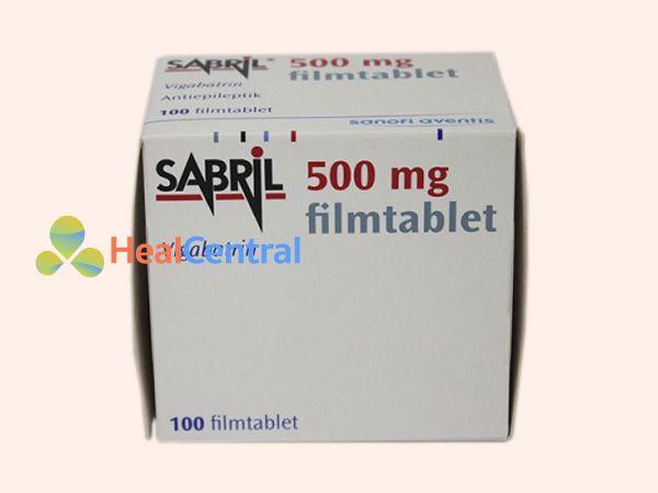 Thuốc Sabril có thành phần Vigabatrin