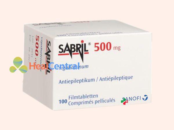 Thuốc Sabril - điều trị động kinh
