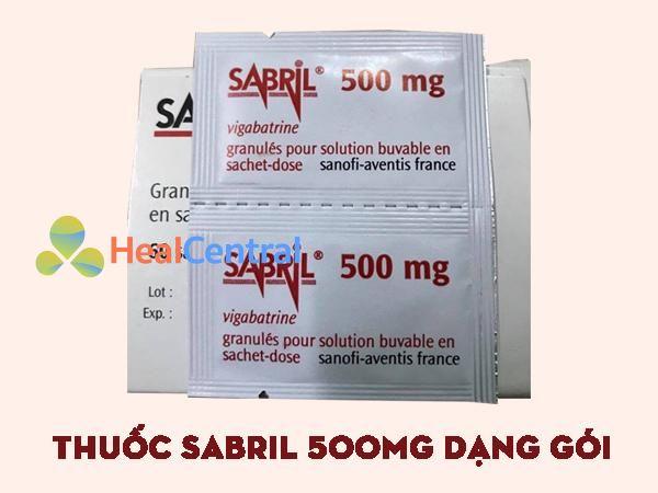 Thuốc Sabril dạng gói bột uống