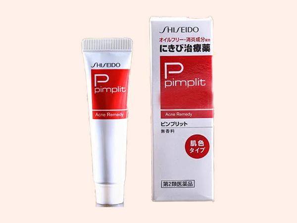 Kem Trị Mụn Đầu Đen Shiseido Pimplit dành cho da dầu – Nhật