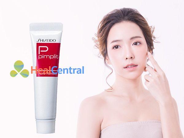 Kem trị mụn Shiseido Pimplit có xuất xứ từ Nhật Bản
