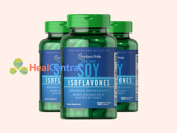 Soy Isoflavones - bổ sung nội tiết tố nữ