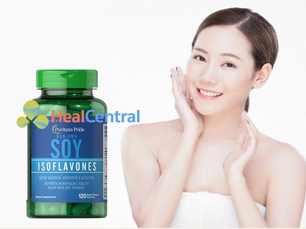 Soy Isoflavones - tăng cường sinh lý nữ